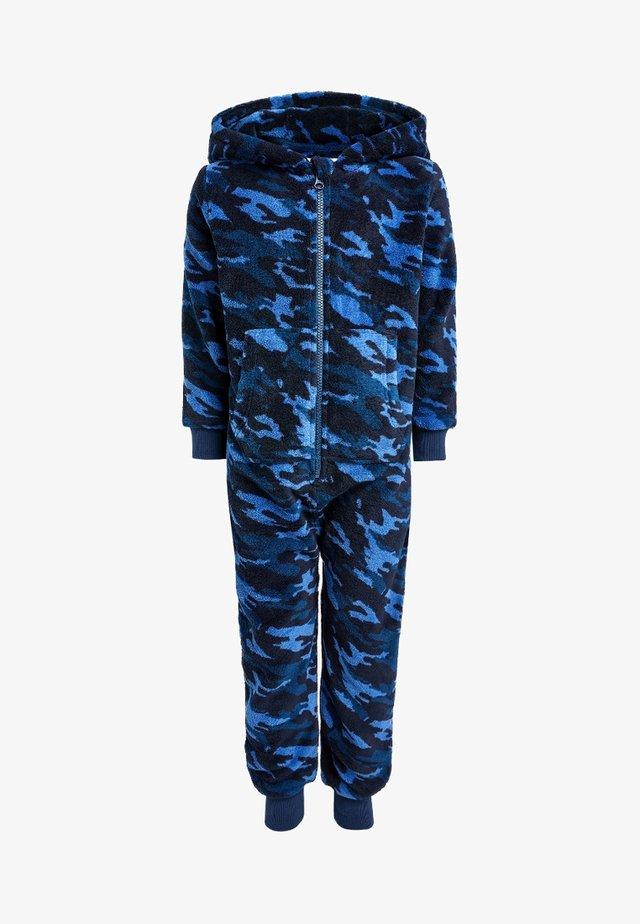 CAMO ALL-IN-ONE  - Pyjama - blue