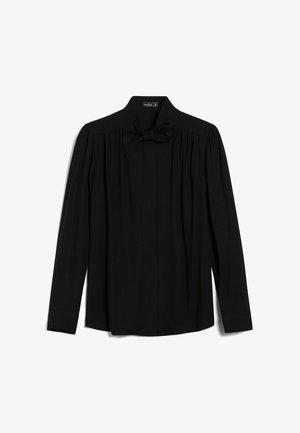 LAINI - Button-down blouse - schwarz