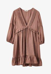 PULL&BEAR - MIT TUNNELBUND - Day dress - rose - 4