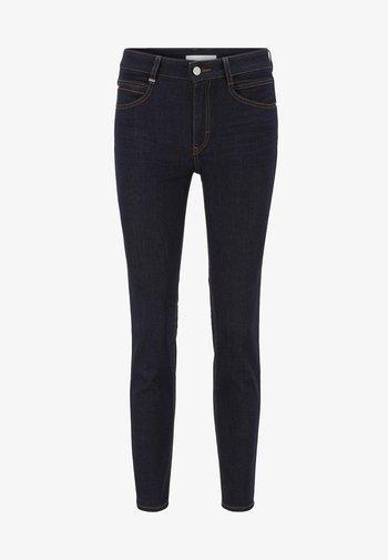 CROP - Slim fit jeans - dark blue