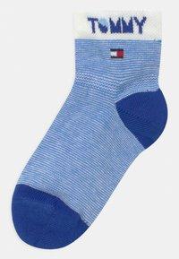 Tommy Hilfiger - WORDING 4 PACK UNISEX - Socks - blue - 1