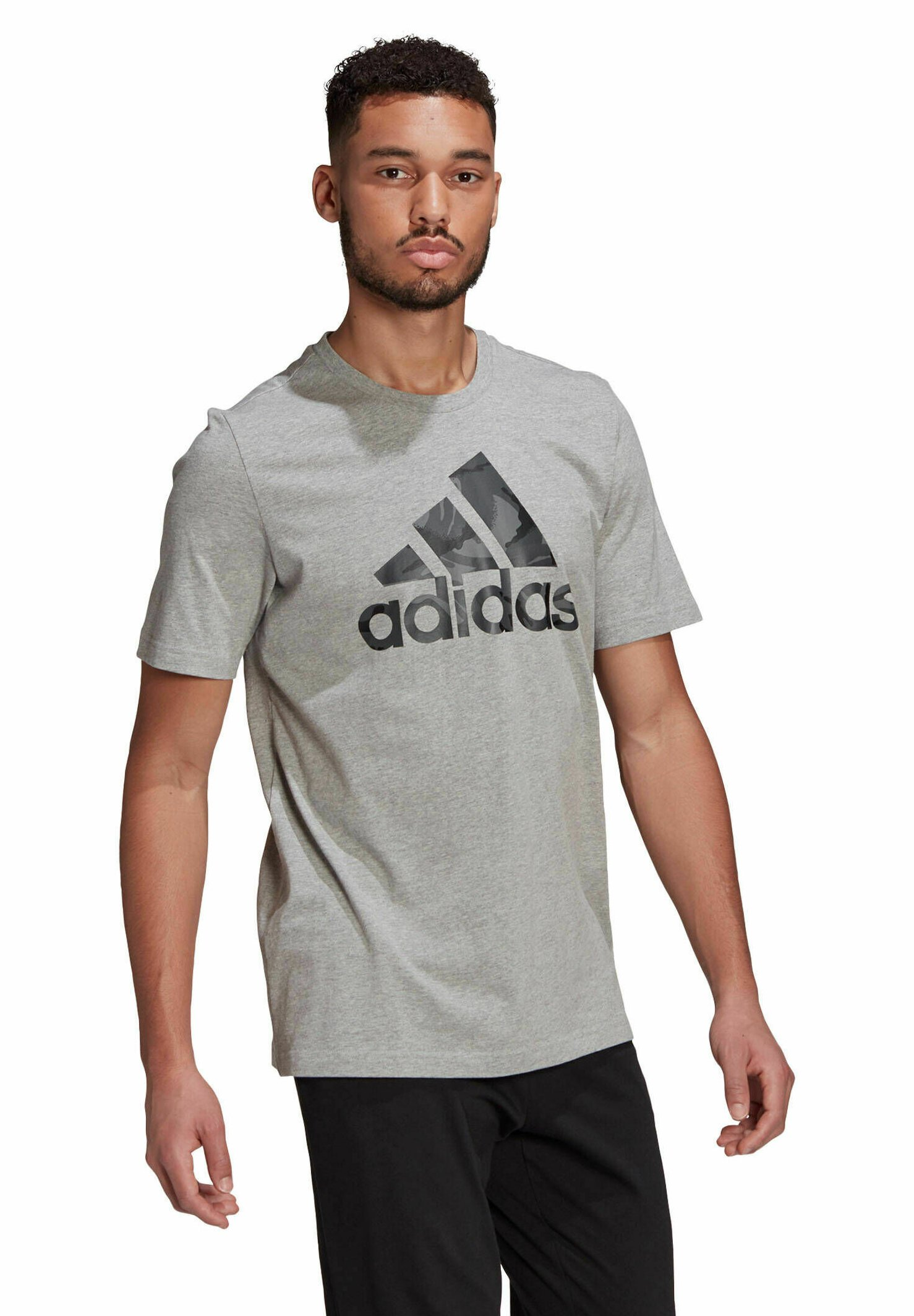 Men Camouflage T ESSENTIALS SPORTS REGULAR GRAPHIC T-SHIRT - Print T-shirt