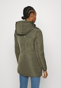 Calvin Klein Jeans - TECHNICAL LONG - Down coat - deep depths - 3