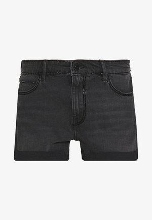 GEMMA  - Shorts di jeans - black magic wash