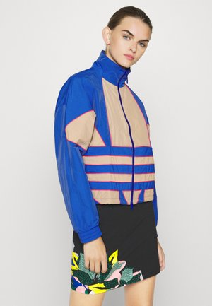 ADICOLOR SPORTS INSPIRED LOOSE TRACK - Treningsjakke - team royal blue/trace khaki/power pink