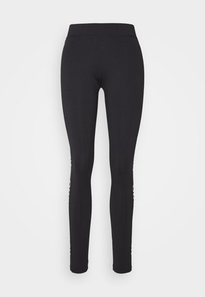 NEFLECTIVE - Leggings - Trousers - black