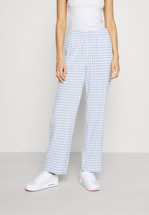 ENCORIANDER PANTS - Trousers - sky blue