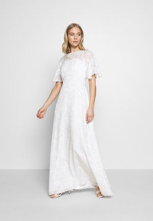 BRIDAL LEYLA BACK MAXI DRESS - Occasion wear - ivory