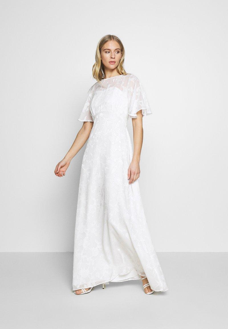 Dorothy Perkins - BRIDAL LEYLA BACK MAXI DRESS - Occasion wear - ivory