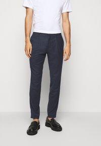 HUGO - HESTEN - Kostymbyxor - medium blue - 0