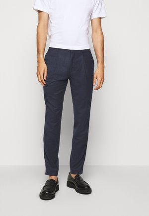 HESTEN - Suit trousers - medium blue