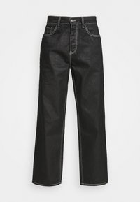Jaded London - RELAXED FIT  - Straight leg jeans - black - 3