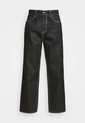 RELAXED FIT  - Jean droit - black