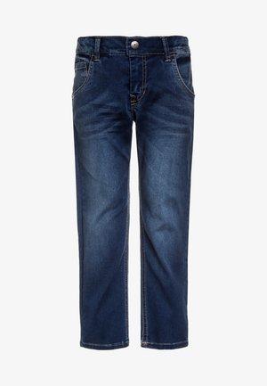 NKMRYAN PANT  - Straight leg jeans - dark blue denim