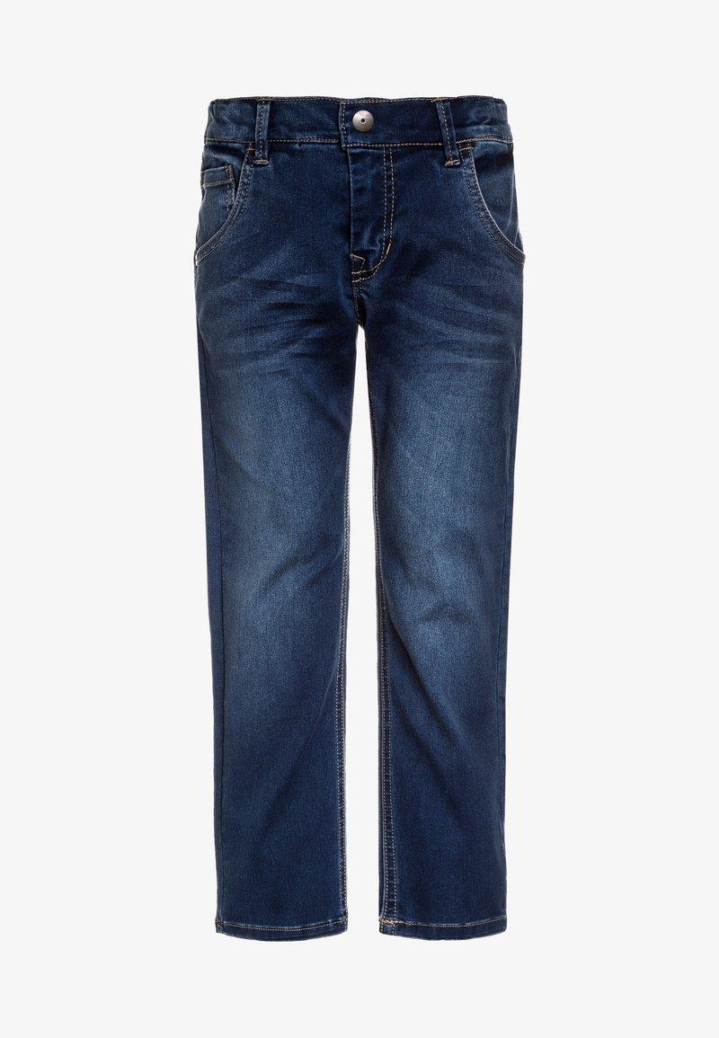 Name it - NKMRYAN PANT  - Straight leg jeans - dark blue denim