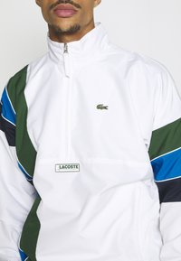 Lacoste Sport - BH1511 - Training jacket - white/navy blue/utramarine/green - 5