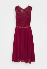 WAL G. - SKYLAR DRESS - Iltapuku - wine - 4