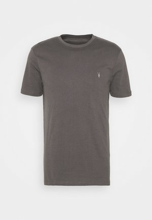 BRACE CREW - T-shirt con stampa - soot grey