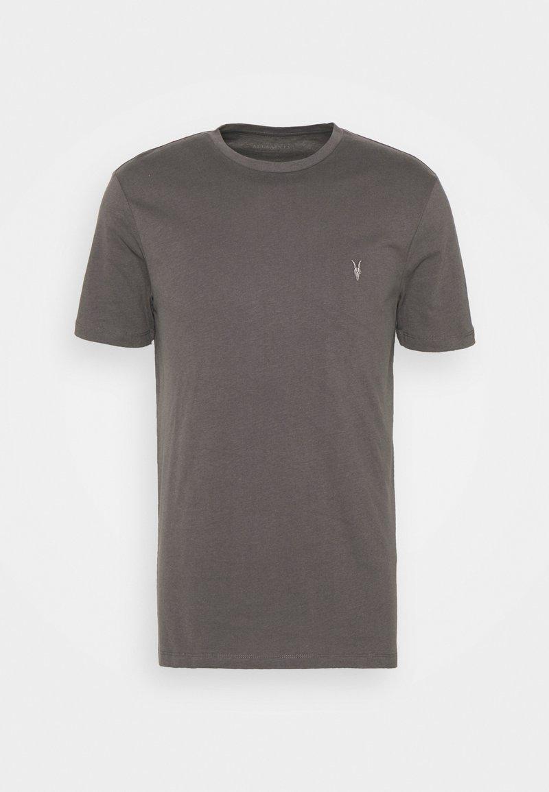 AllSaints - BRACE CREW - Print T-shirt - soot grey
