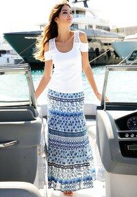 Alba Moda - A-line skirt - blau - 1