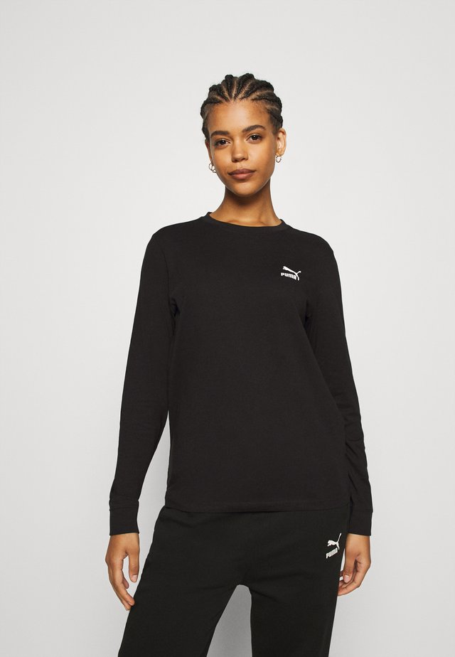 CLASSICS LONGSLEEVE  - Long sleeved top - black