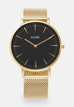 LA BOHÈME - Watch - gold-coloured/black