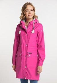 Schmuddelwedda - Waterproof jacket - pink - 0