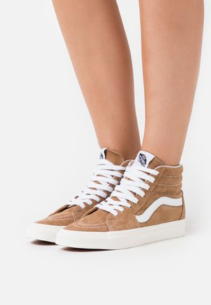SK8-HI - Chaussures de skate - brown sugar/snow white