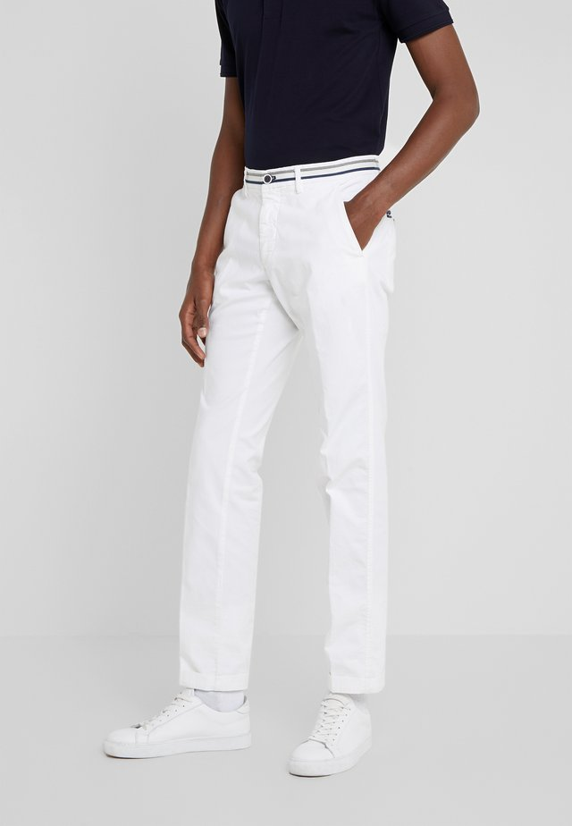 TORINO SUMMER - Chino kalhoty - white