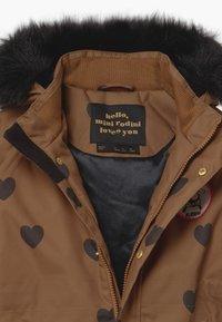 Mini Rodini - HEARTS - Winter coat - brown - 4