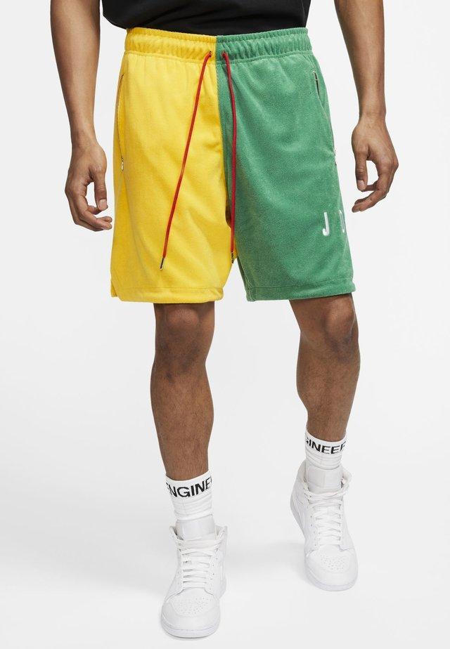 Shorts - amarillo/aloe verde/university red/(white)