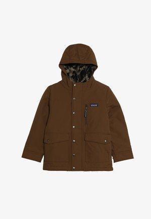 BOYS INFURNO JACKET - Winter jacket - owl brown
