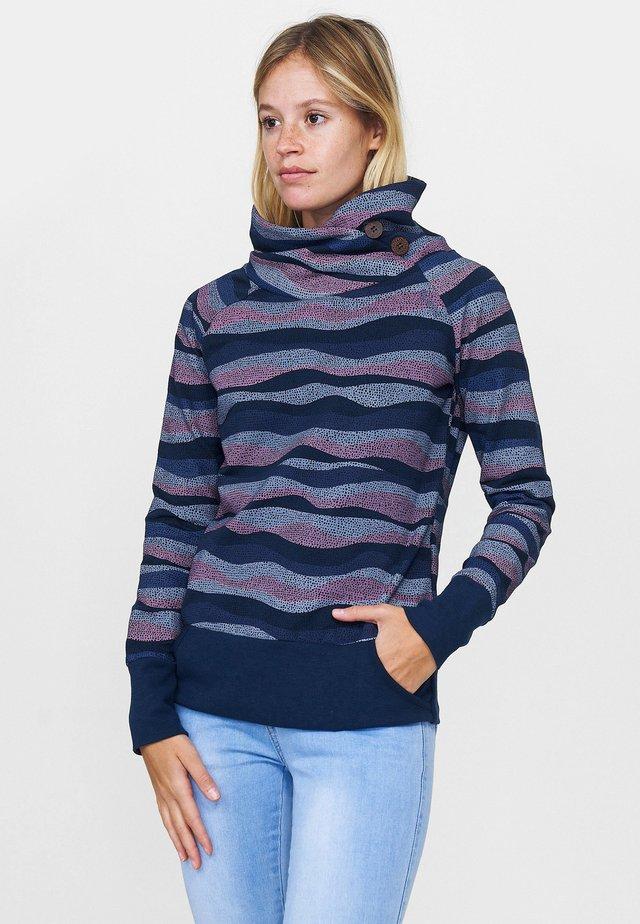 KYNUNA - Sweatshirt - navy / waves