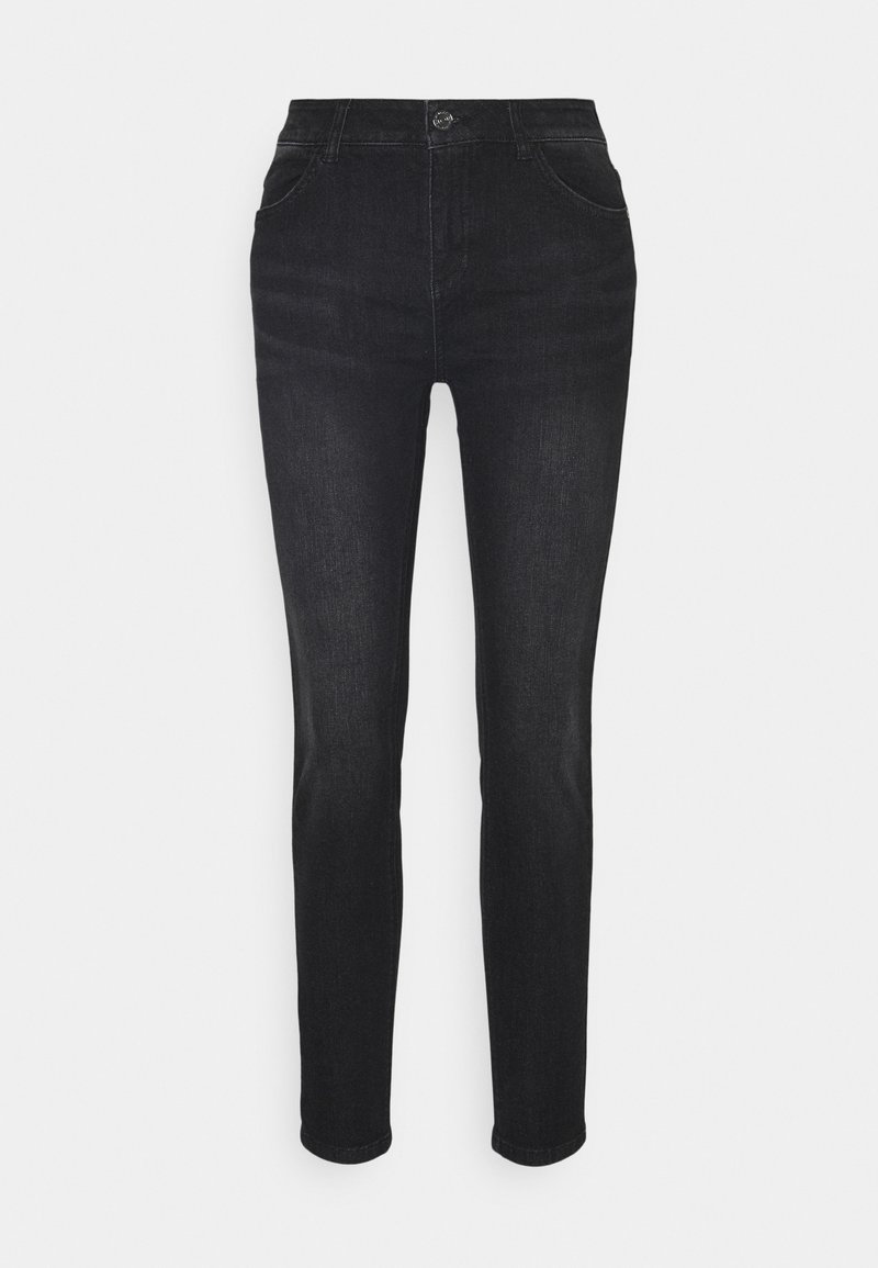 comma casual identity - Slim fit jeans - black stre