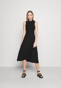 EDITED - TALIA DRESS - Jersey dress - schwarz - 0