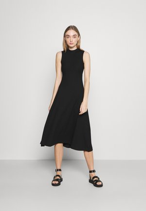 TALIA DRESS - Jersey dress - schwarz