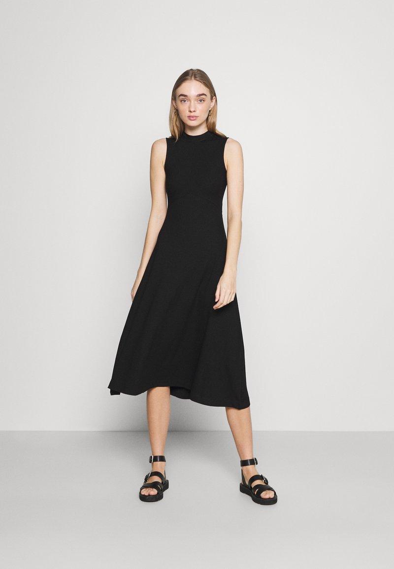 EDITED - TALIA DRESS - Jersey dress - schwarz