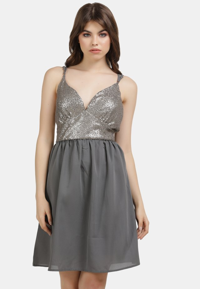 Cocktail dress / Party dress - grau