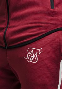 SIKSILK - TECH ATHLETE TRACK PANTS - Tracksuit bottoms - burgundy - 4