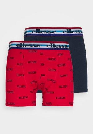 BOXERS 2 PACK - Underkläder - red/blue
