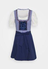 ONLY - ONLLOLA LACE UP DIRNDL DRESS SET - Dirndl - cloud dancer/blue - 4