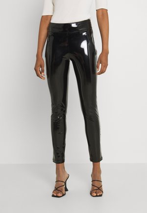 NADIA PANTS - Pantalones - black