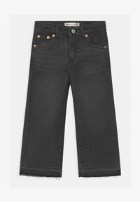 Levi's® - CROPPED WIDE LEG - Jeans baggy - black - 0