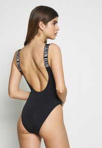 Calvin Klein Swimwear - INTENSE POWER SCOOP ONE PIECE - Plavky - black