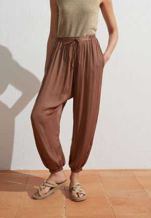 HAREM  - Trousers - brown