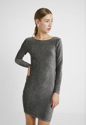 ONLJOSEFINA SHORT DRESS - Cocktailjurk - black/silver
