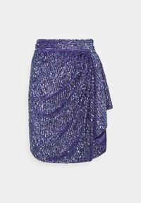 MANÉ - SKIRT - Mini skirt - azure - 0