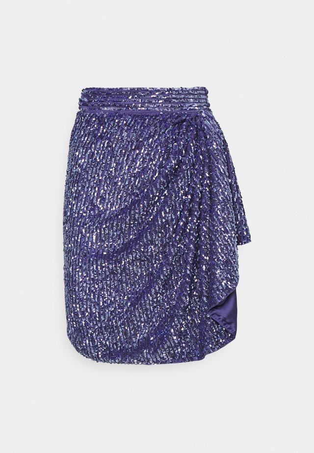 SKIRT - Mini skirt - azure
