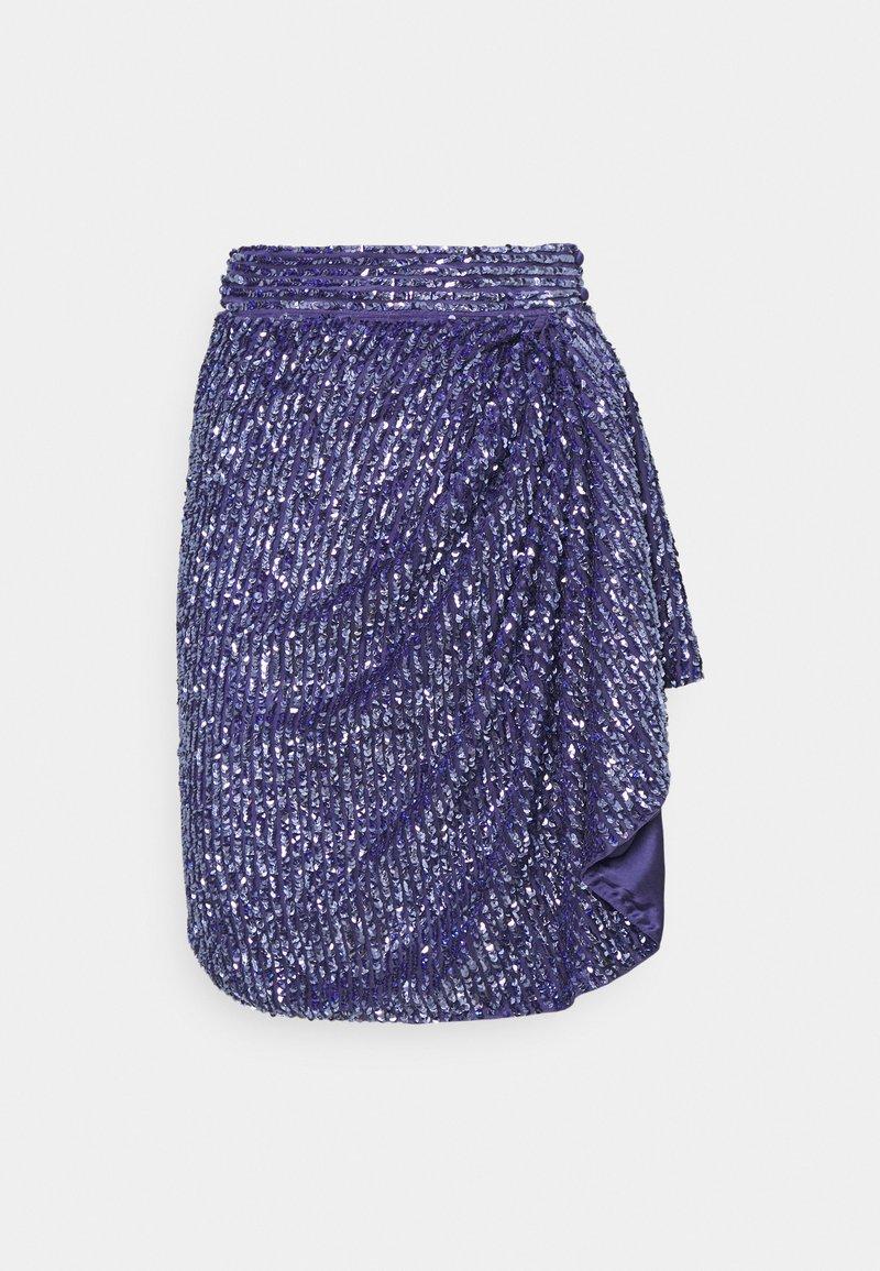 MANÉ - SKIRT - Mini skirt - azure
