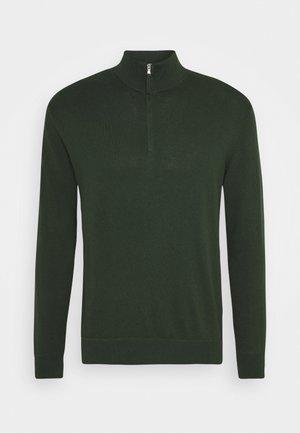 ZIP - Trui - dark green